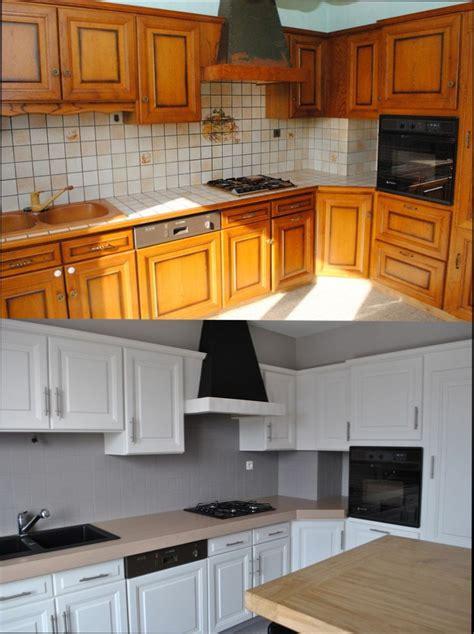 repeindre des meubles de cuisine en bois cuisine bois quelle peinture pour repeindre meuble