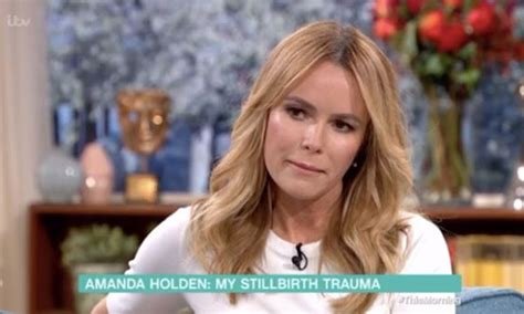 Amanda Holden Fights Back The Tears As She Opens Up About