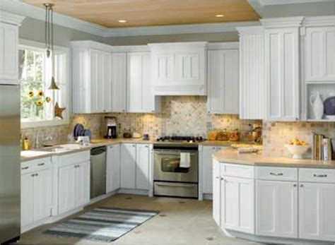 kitchen backsplash with white cabinets favorite white kitchen cabinets to renew your home interior midcityeast