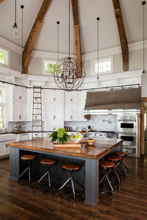 modern farmhouse kitchens  gorgeous fixer upper style