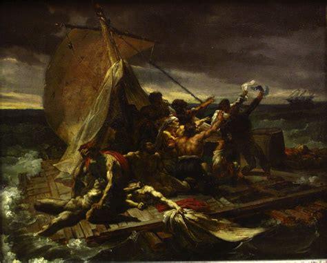 jean louis gericault the story in paintings g 233 ricault s raft of the medusa