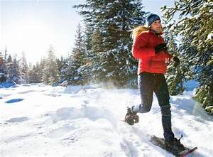 Want to burn 500 calories an hour? Snowshoeing is an