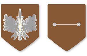 knights magic  order  silver phoenix emblem metal