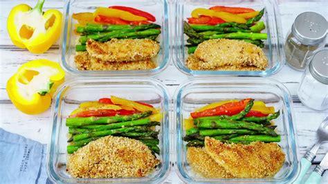 Sesame Chicken Bowls Easy Meal Prep Clean Food Crush