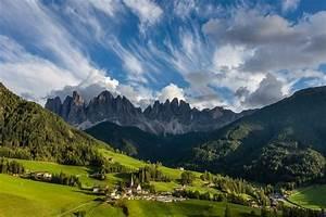 Wallpaper, Sunlight, Landscape, Forest, Italy, Hill, Lake