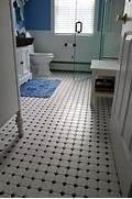 Retro Tile Bathroom by Vintage Tile Bathroom Floor New Jersey Custom Tile