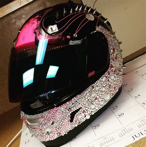 helmet designs how to bling the crap out of your
