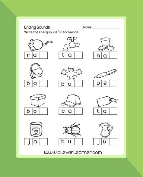 ending sounds preschool worksheet preschool worksheet 388 | 18d87fdc3cdefa062c11e18c346a504f