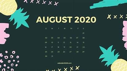 Calendar Desktop August Wallpapers Monthly Wallpapersafari July