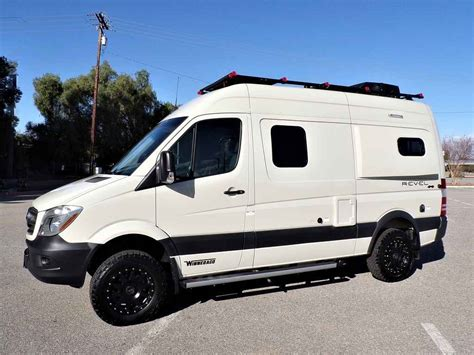 Sleeps up to four (2 custom bunk beds sleeps 2 kids). 2018 New Winnebago Revel 44E 4X4 Sprinter Mercedes Turbo Diesel Class A in California CA