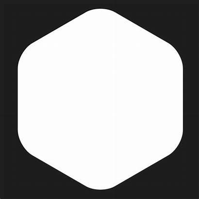 Hexagon Rounded Corner Photoshop Clipart Corners Polygon