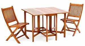 Table Chaise Balcon : set de balcon port offert table en bois table et chaises pliables mobilier pliable ~ Teatrodelosmanantiales.com Idées de Décoration