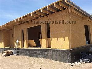 photos de chantier de maison en bois en kit With maison en bois autoconstruction