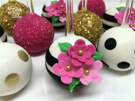 kate spade themed cake pops   jennie   cake pop