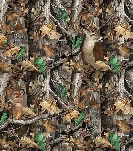 Realtree Camo Deer Fleece FabricRealtree Camo Deer Fleece