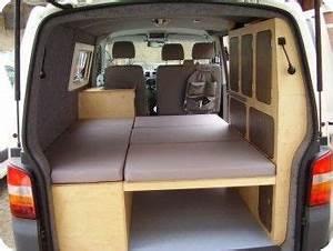 Wohnmobil Selbstausbau Elektrik : bett aufgebaut t5 campervans pinterest aufzubauen ~ Jslefanu.com Haus und Dekorationen