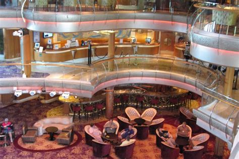 Inside of cruise ship