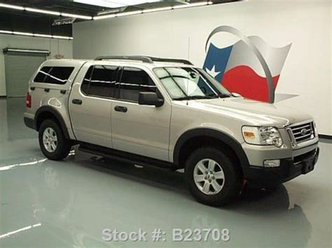 purchase   ford explorer sport trac camper shell