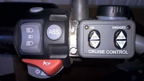 Rostra Cruise Control On Bmw R 1200 Gs 2007