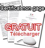 telecharger certificat de non gage certificat de non gage immediat certificat de situation administrative