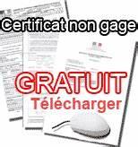 Certificat De Non Gage Gratuit à Imprimer Pdf : certificat de non gage immediat certificat de situation administrative ~ Gottalentnigeria.com Avis de Voitures