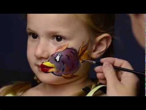 fisch schminken mit kiomi kids kinderschminken anleitung