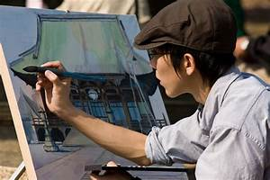 Artist at Work   Quirky Japan Blog