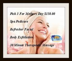 Pick 3 for Mother's Day - SPA SERVICES - Cocoa Beach Spa ...