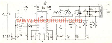 Power Inverter Circuit Using Irfp