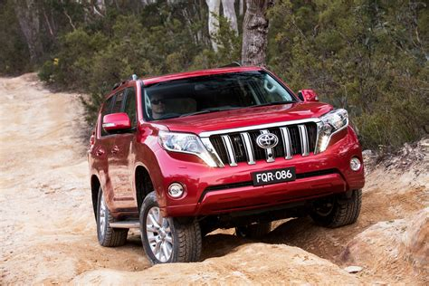 toyota land cruiser prado introduced  australia