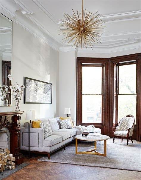 Modern Chic Classic Victorians Historic Details by A Townhouse By Gibbons Home Tour Lonny