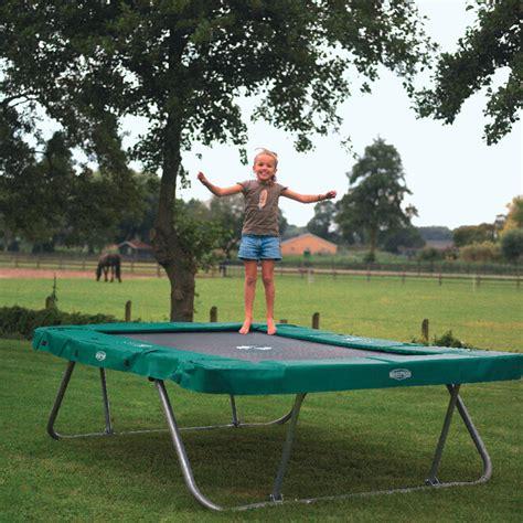 Rechteckige Trampoline Für Spaß Im Garten! Trampolin