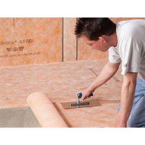 schluter kerdi waterproofing membrane contractors direct