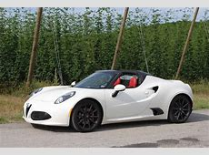 2016 Alfa Romeo 4C Spider Review GTspirit