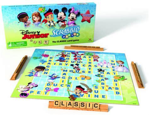 alpha pops learning for toddlers and preschool 964 | Disney Junior Scrabble Board Game GameNight FamilyGames LittleKidsLearning