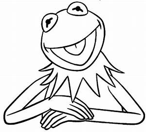 Kermit Coloring Pages - Coloring Pages Ideas