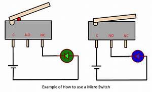 Micro Switch Pinout  Working  Specs  U0026 Datasheet