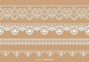 Free Lace Trim Vector Set - Download Free Vector Art