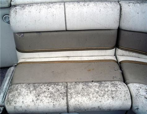 What To Clean Boat Cushions With by How To Clean Mildew Your Boat Seats Fibrenew