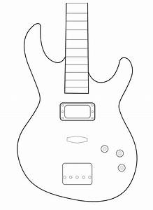 amazing guitar body template pictures inspiration resume With electric guitar body templates