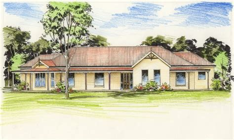 australian colonial house plans australian outback house