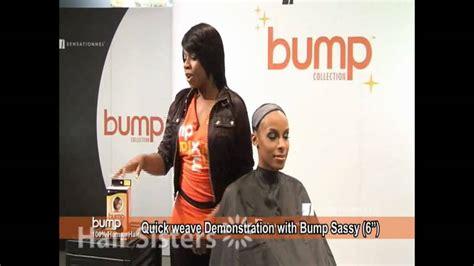 sensationnel bump collection quick weave demonstration youtube