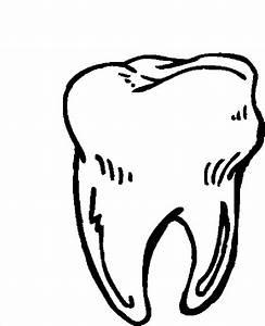 Desenho de Dente molar para colorir - Tudodesenhos