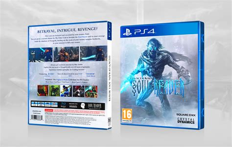 Soul Reaver Playstation 4 Box Art Cover By