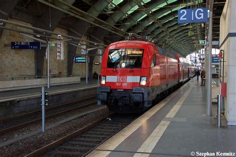 Berlin Zoologischer Garten Nach Ostbahnhof by 182 001 Mit Dem Re1 Re 18181 Berlin Zoologischer