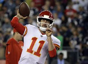 Alex Smith Is Wearing A New Helmet Designed To Reduce Concussions Business Insider