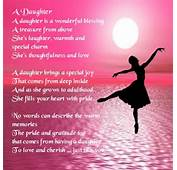 Personalised Coaster  Daughter Poem Ballerina Design
