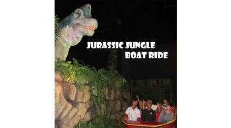 Coupon For Jurassic Jungle Boat Ride by Jurassic Jungle Boat Ride Pigeon Forge Tn