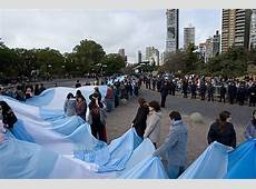 Flag Day – Carrying Argentina's Longest Flag Notes on