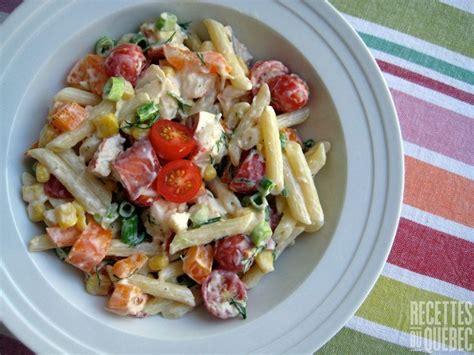 salade de pate recette salade de p 226 tes et de homard recettesduqc salade pates homard recettes
